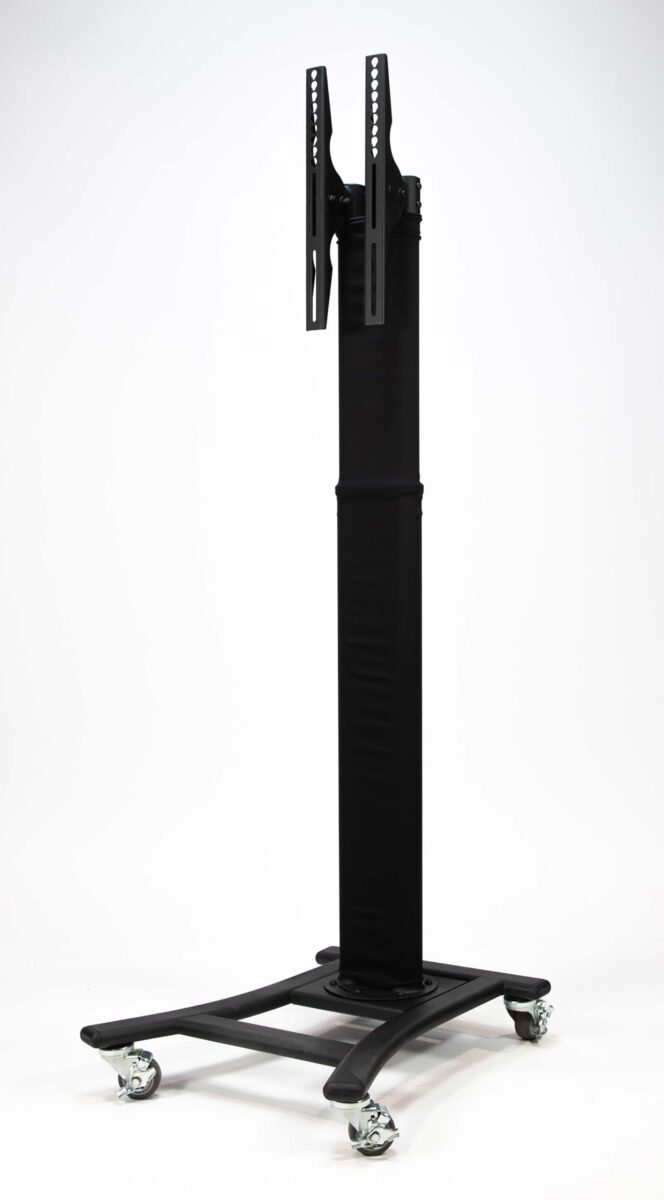 Black Rolling Stand with Sleeve